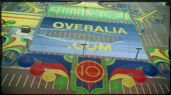 Agradecimiento a Overalia con fichas de dominó - Adwords