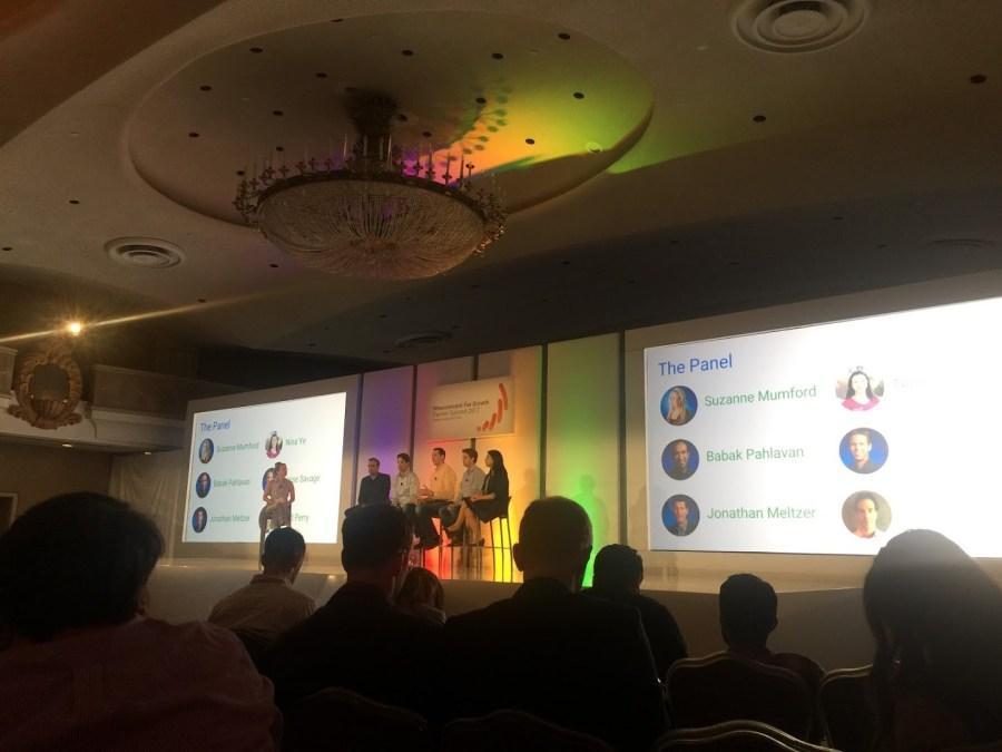 Presentación del Google Analytics Summit 2017