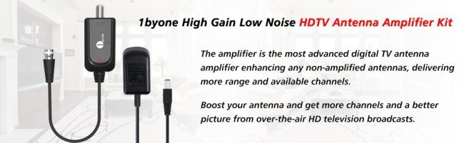 1byone Omni-directional Outdoor Antenna - 60 Miles Range Review