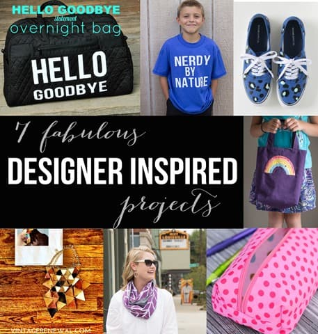 Fabulous designer inspired projects