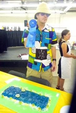 Boyd Rice with his Award Winning Hawaiian Jelly