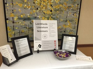 LifeWords Literature Seminars Display