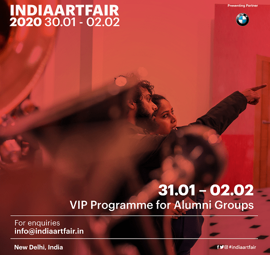 India Art Fair | Saturday 1 February 2020
