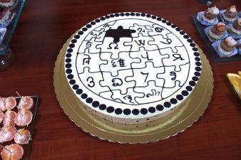 An Armenian Wiki birthday cake. Wikimedia Commons. Photo by Beko.
