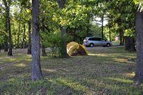 Berry Bend campsite