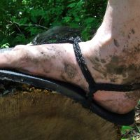 Hiking Huaraches - My hiking 'boots'