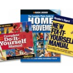 3 Do-It-Yourself, Fix-It-Yourself, Home Improvement Manuals