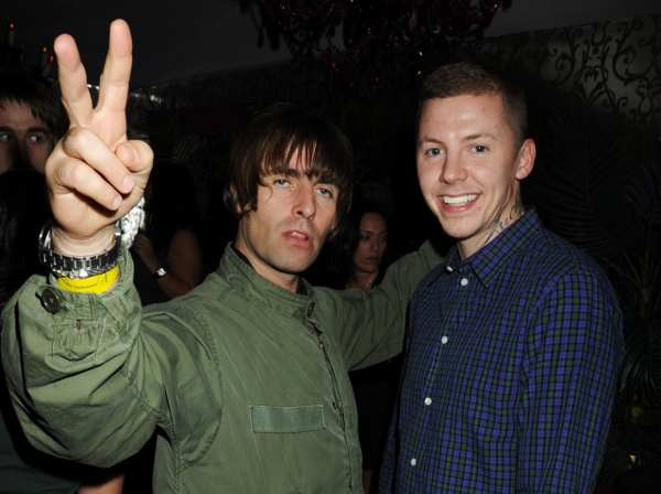 Liam Gallagher & Proffessor Green