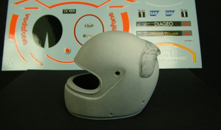Alonso helmet