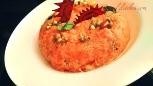Beetroot Sprout Upma (1)