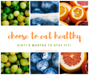 kirti's mantra to stay fit!