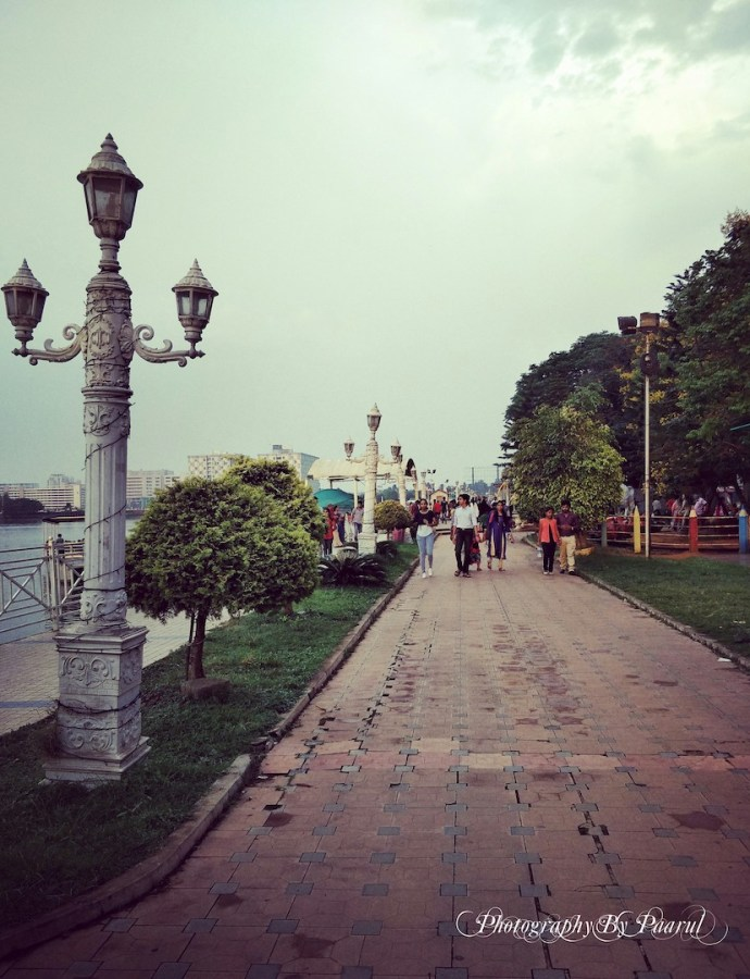 An Evening at Lumbini Garden, Bangalore