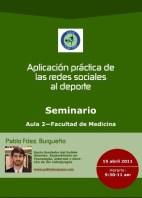 Seminario sobre Redes Sociales aplicadas al deporte