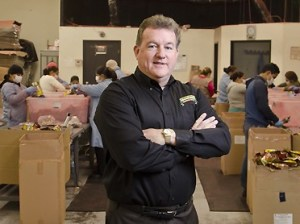 CEO, President and Founder Jim Lacey at Crunchies Food Co.'s Westlake Village headquarters. (Business Times file photo)