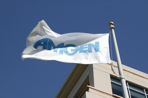 Thousand Oaks-based biotech giant Amgen is the region's largest private employer and only blue-chip stock. (Amgen courtesy photo)