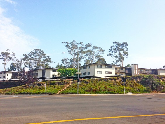 The Harbor Heights Manor at 801 Cliff Drive in Santa Barbara has been sold for $33 million, a record price for the city. (photo courtesy of Radius Commercial Real Estate & Investments)
