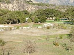Rancho San Marcos, a par 71 course in the Santa Ynez Valley, said dry conditions are affecting business. The course's general manager told the Business Times that the number of rounds played at the course is at 10 percent of normal. (Alex Drysdale / Business Times photo)