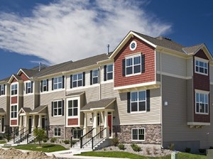 A Ryland Group townhome development in Chanhassen, Minn. (Ryland Group media image)