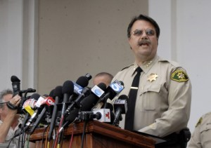 Santa Barbara County Sheriff Bill Brown said deputies did a welfare check on Rodger earlier this year, but decided he was fine. (Stephen Nellis / Business Times photo)