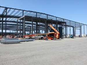 Avocado marketer Mission Produce has started construction on a new corporate campus in Oxnard. The site was formerly a postal facility. (courtesy photo)