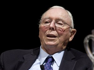 Charles Munger, vice chairman of Berkshire Hathaway, speaks during an event in Pasadena in 2011. (Bloomberg News photo)