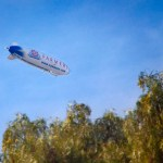 Farmers blimp