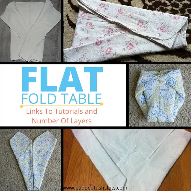 Master Table Of Flat Folds