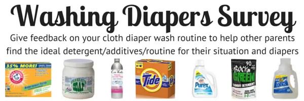 Washing Diapers Survey