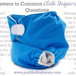 Answers to Common Cloth Diapering Questions