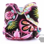 Mini Modia Fitted Cloth Diaper Review