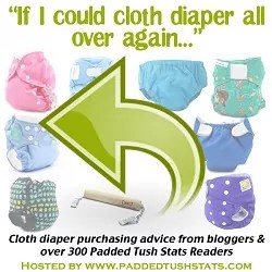 """If I Could Cloth Diaper All Over Again"" Advice"