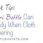 Quick Tip – How A Peri Bottle Can Come In Handy When Cloth Diapering