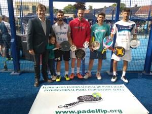 The Final, Guga-Masa vs Bracchi-Victor Source: PadelWorldPress.es