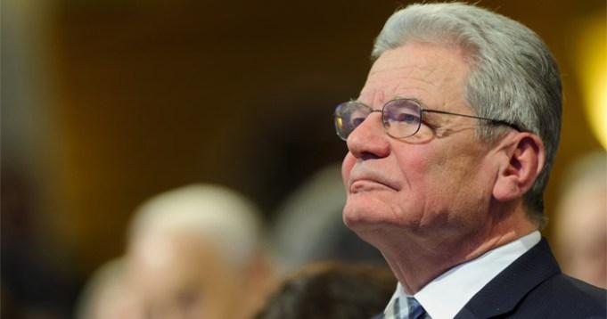 Bundespräsident Joachim Gauck in Paderborn