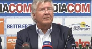 Wilfried Finke Comeback SC Paderborn