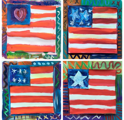 Flag collage