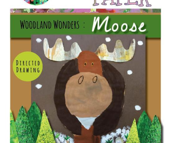 Woodland Wonders Moose cover