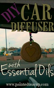 DIY Essential Oil Car Diffuser
