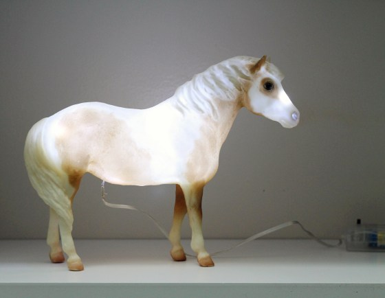 Misty of Chincoteague Night Light // Painting Pony