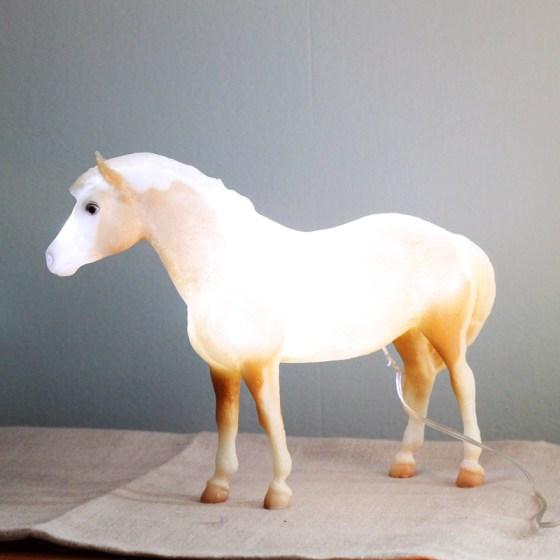 Misty of Chincoteague Night Light // Painting Pony