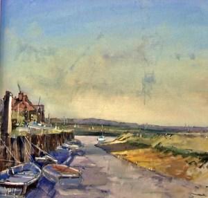 Brian Ryder Artists Burnham Overy Staithe Norfolk