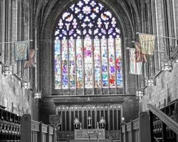 Paisley Abbey interior