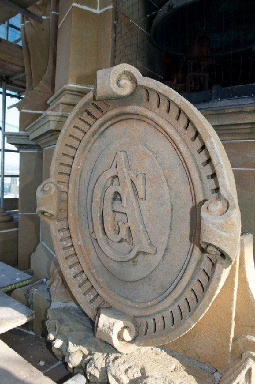 Paisley Town Hall stonework