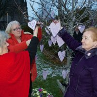 Renfrewshire residents gather to remember suicide victims
