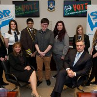 Youth Parliament candidates meet with Council Leader