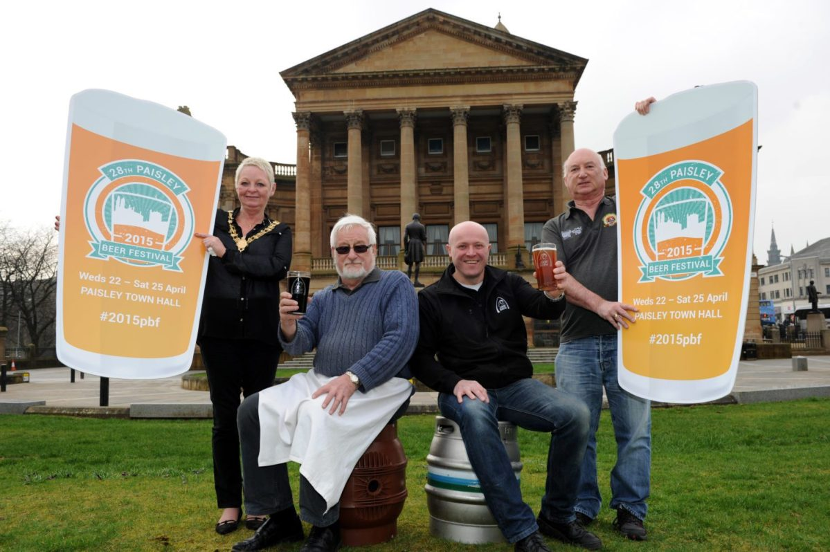 Paisley Beer Festival is back...with a difference