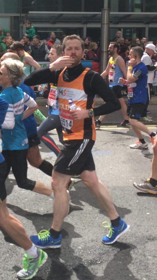 London Marathon-run by Paisley Pirates' Colin McMillan