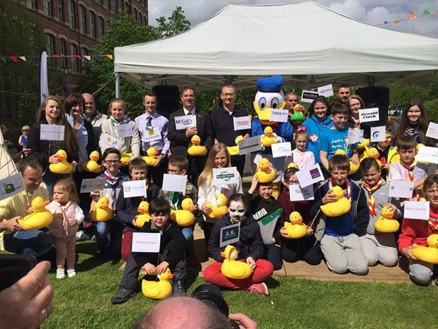 Another successful year for Scouts' Charity Duck Race