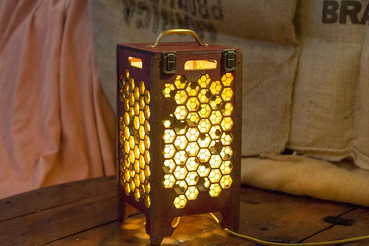 Beehive Tabletop Lamp