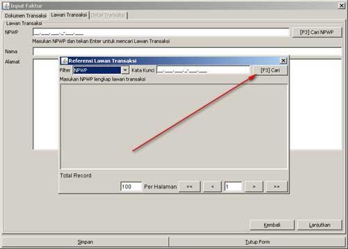 Program e-Faktur - Langkah Ke-3 Rekam Faktur Pajak
